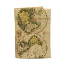 """зображення 1 - Обкладинка на паспорт Just cover """"Карта світу"""" 13,5 х 9,5 см"""