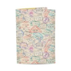 "фото 1 - Обложка на паспорт Just cover ""Штампы"" 13,5 х 9,5 см"