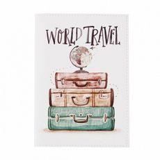 """фото 1 - Обложка на паспорт Just cover """"World travel"""" 13,5 х 9,5 см"""