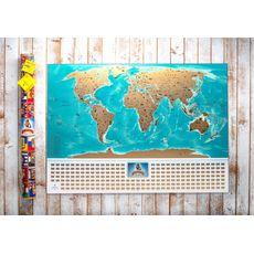 зображення 1 - Скретч карта світу My Map Flags edition (українська мова) 88х63