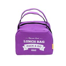 фото 1 - LUNCH BAG ZIP purple