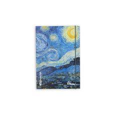 фото 1 - Скетчбук V. Gogh 1889 S Plus  A5 Чистые 160 страниц с открытым переплетом