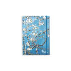 фото 1 - Скетчбук V. Gogh 1890 Plus  A5 Чистые 160 страниц с открытым переплетом