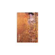 фото 1 - Скетчбук Klimt 1907-1908 Plus  A5 Чистые 160 страниц с открытым переплетом