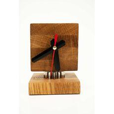 зображення 1 - Настільний годинник Pride&Joy із дерева 01clmin