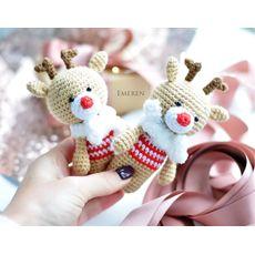 """зображення 1 - Іграшка EMEREN shop """"Олені"""" маленькі"""