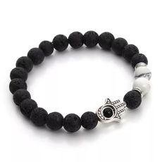 "фото 1 - Браслет Blackjewelry13 ""Ладонь Будды"""