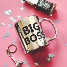 "фото 1 - Чашка Censored ""Big boss"" 310 мл."