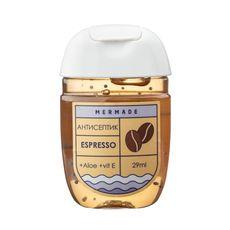 """зображення 1 - Антисептик для рук Mermade """"Espresso"""" (кава) 29 мл"""