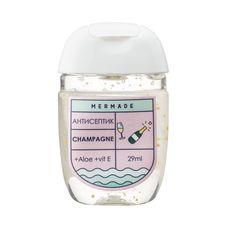 "зображення 1 - Антисептик для рук Mermade ""Champagne"" (шампанське) 29 мл"