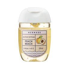 "зображення 1 - Антисептик для рук Mermade ""Peach Beach"" (персик) 29 мл"