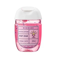"""зображення 1 - Антисептик для рук Mermade """"Pop Star"""" (солодкий парфумний запах) 29 мл"""
