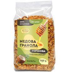 "зображення 1 - Гранола Oats&Honey ""Горіхова"" 500 г"