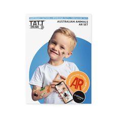 фото 1 - Временные тату TATTon.me AR Australian Set