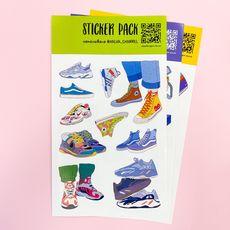 """зображення 1 - Стікерпак """"Sneakers"""""""