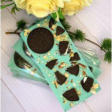 "фото 1 - Шоколад Laviva Chocolates белый ""Oreo"" 27%, 100г"