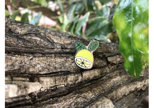 "фото 2 - Значок Pin&Joy ""Лимон"" металл"