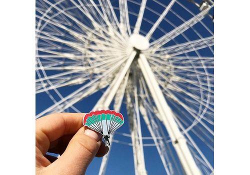"""зображення 2 - Значок Pin&Joy """"Парашют"""" метал"""