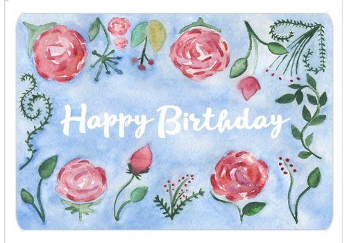 """зображення 1 - Листівка """"Birthday flover"""""""