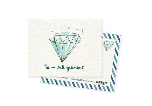 """зображення 1 - Міні-листівка """"Діамант"""""""