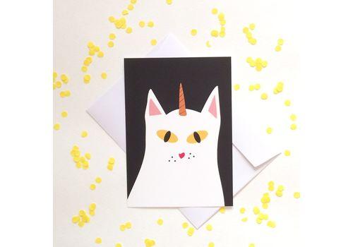"""зображення 1 - Листівка """"Кіт"""""""