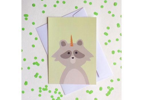 фото 1 - Листівка з єнотом