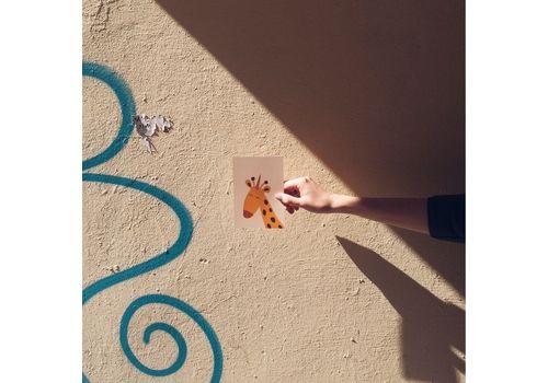 """зображення 2 - Листівка """"Жираф"""""""