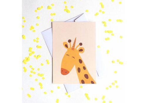 """зображення 1 - Листівка """"Жираф"""""""
