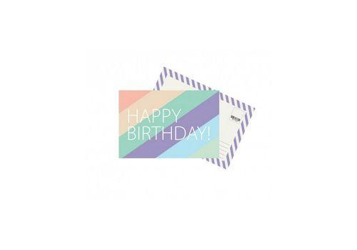 """фото 1 - Открытка """"Happy Birthday"""""""