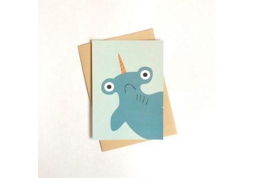 """зображення 1 - Листівка """"З акулою"""""""