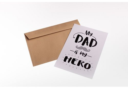 "фото 1 - Открытка Candys.ua ""Dad-Hero"""
