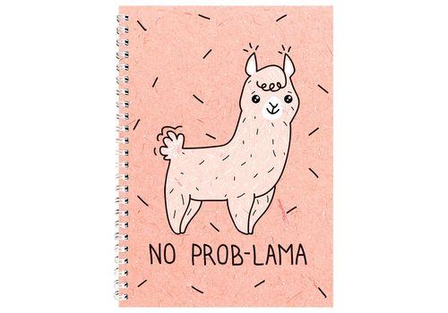 "зображення 1 - Блокнот Papadesign ""No prob-lama"" A5 21 х 15 см."