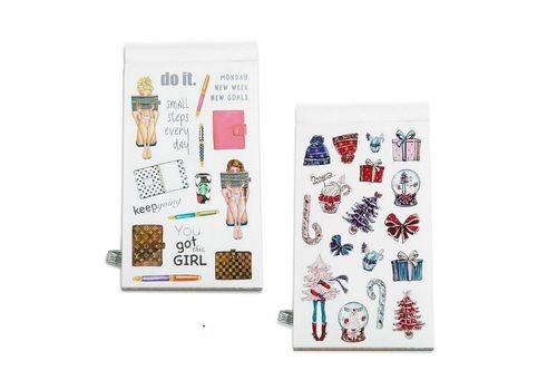 фото 4 - Книга з наліпками  STICKER BOOK FOR GIRLS  A002356