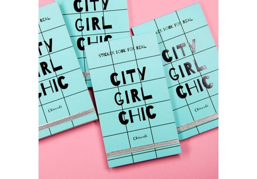 фото 3 - Книга з наліпками  STICKER CITY GIRL CHIC A002538