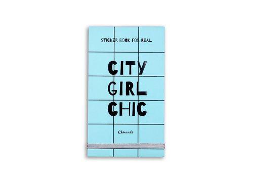 фото 1 - Книга з наліпками  STICKER CITY GIRL CHIC A002538