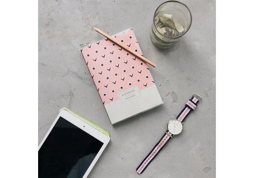 "зображення 2 - Блокнот Gifty ""Write&Draw Pink Dots"" L"