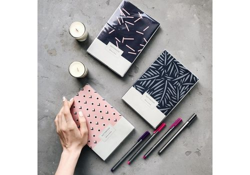 "зображення 3 - Блокнот Gifty ""Write&Draw Pink Dots"" L"