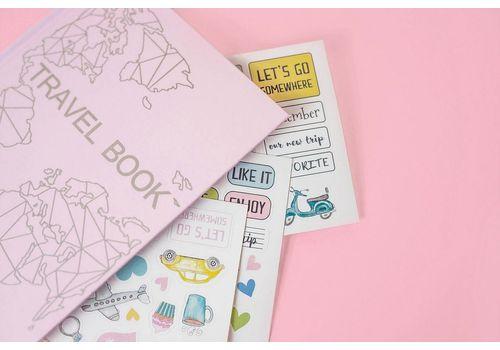 """фото 2 - Блокнот """"Travel Book Pink Edition"""""""