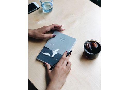 """Блокнот Gifty """"Write&Draw Facebook"""" L, фото 3"""