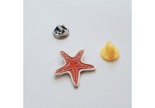 """зображення 6 - Значок """"Морська зірка"""" метал"""