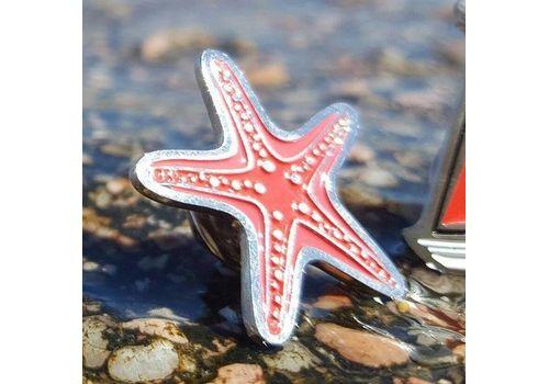 """зображення 3 - Значок """"Морська зірка"""" метал"""