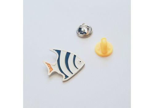 """зображення 1 - Значок Pin&Joy """"Рибка"""" метал"""