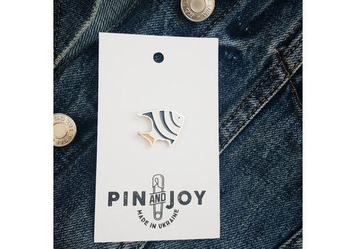 """зображення 4 - Значок Pin&Joy """"Рибка"""" метал"""