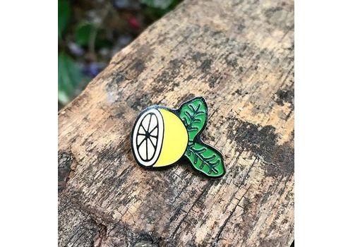 "фото 1 - Значок Pin&Joy ""Лимон"" металл"