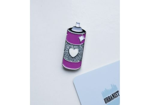 фото 1 - Пін Балон графіті