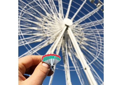 """зображення 4 - Значок Pin&Joy """"Парашют"""" метал"""