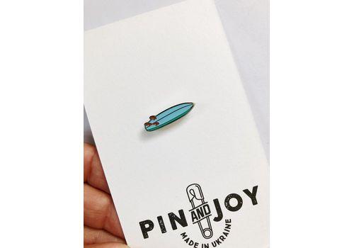 """зображення 3 - Значок Pin&Joy """"Серф дошка"""" метал"""