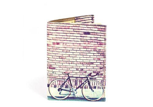 """фото 1 - Обложка на паспорт Just cover """"Велосипед"""" 13,5 х 9,5 см"""