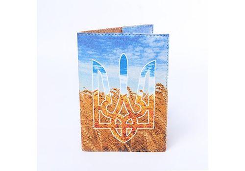 "зображення 2 - Обкладинка на паспорт Just cover ""Герб та пшениця"" 13,5 х 9,5 см"