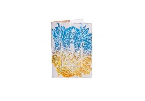 """фото 2 - Обложка для паспорта Just cover """"Цветочный герб"""" 13,5 х 9,5 см"""